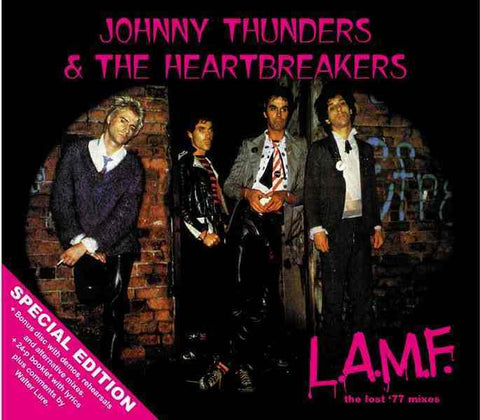 Johnny Thunders & The Heartbreakers 'L.A.M.F.' 2xCD 'Special Edition' 2002 - LAST FEW!