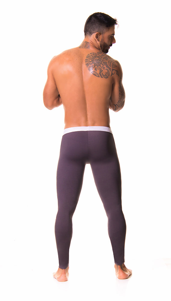 JOR - Olimpic Long Pants - Gray-pants-Johnny Beach