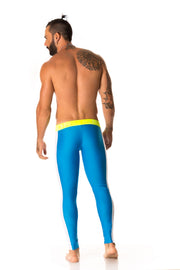 JOR - Runner Long Pant - Blue-pants-Johnny Beach