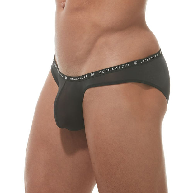 Gregg Homme Bubble G'Homme Briefs Black-Underwear-Johnny Beach