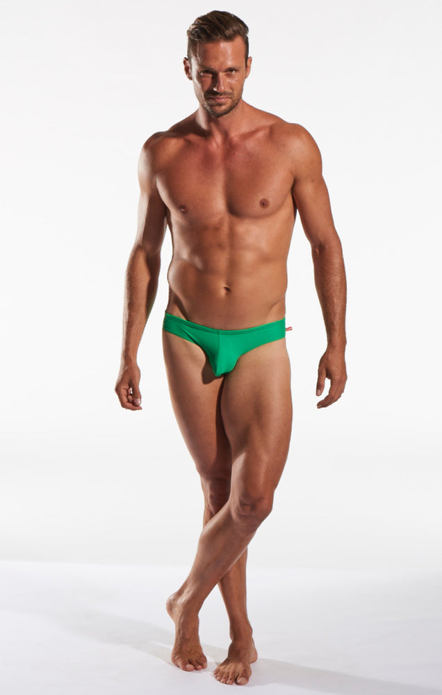 Cocksox - CX04 Drawstring Swim Brief - Shamrock, Swimwear, Cocksox - Johnny Beach