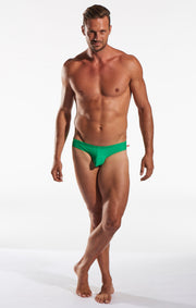 Cocksox - CX04 Drawstring Swim Brief - Shamrock-Swimwear-Johnny Beach