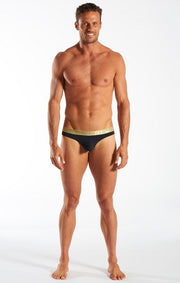 Cocksox - Sports Thong - Gold Shimmer Johnny Beach