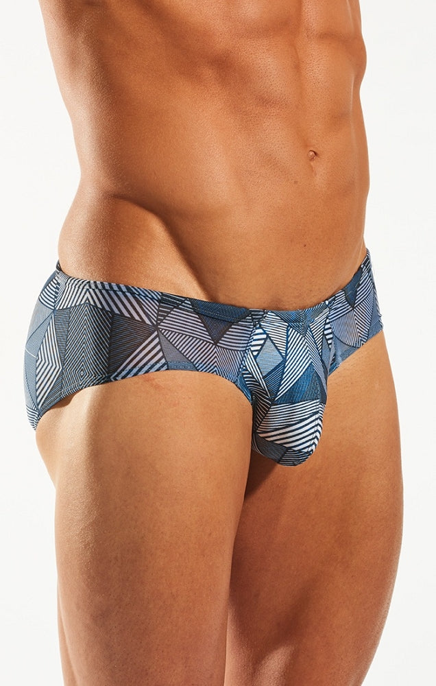 Cocksox - Sheer Boy Leg Swim Brief - Hypnotic, swimwear, Cocksox - Johnny Beach