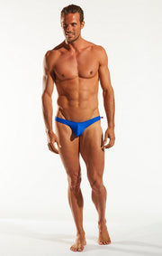 Cocksox - Swim Brief - Galactic Blue Johnny Beach