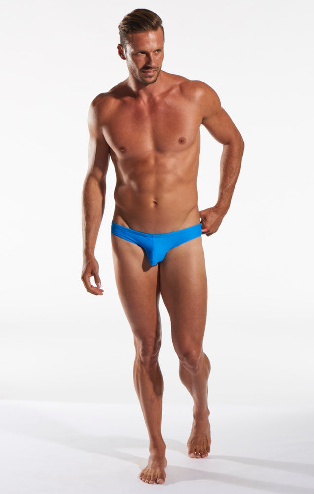 Cocksox - CX04 Drawstring Swim Brief - Oceanic, Swimwear, Cocksox - Johnny Beach