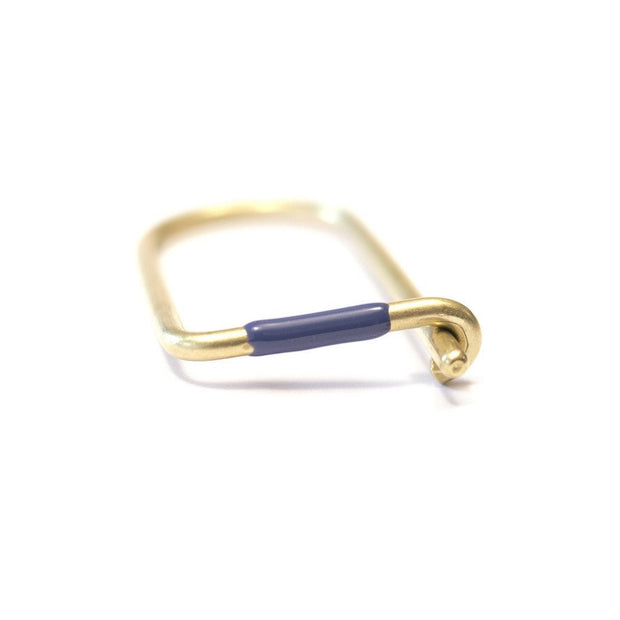 Craighill - Wilson Keyring - Enameled - Blue Johnny Beach