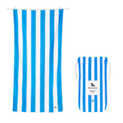 Dock & Bay - XL Cabana Towel - Bondi Blue-towels-Johnny Beach