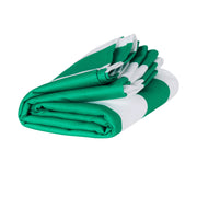 Dock & Bay - XL Cabana Towel - Cancun Green-towels-Johnny Beach