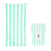 Dock & Bay - XL Cabana Towel - Narabeen Green-towels-Johnny Beach