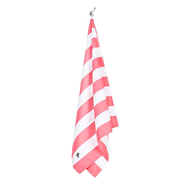 Dock & Bay - XL Cabana Towel - Kuta Pink Johnny Beach