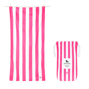 Dock & Bay - XL Cabana Towel - Phi Phi Pink-towels-Johnny Beach