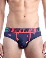 Supawear - Sprint Brief Underwear - Bristly Black
