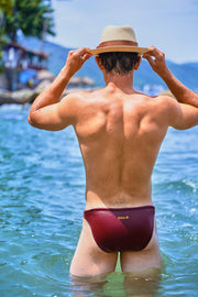 Dietz Traxx Swimwear Wine-Swimwear-Johnny Beach