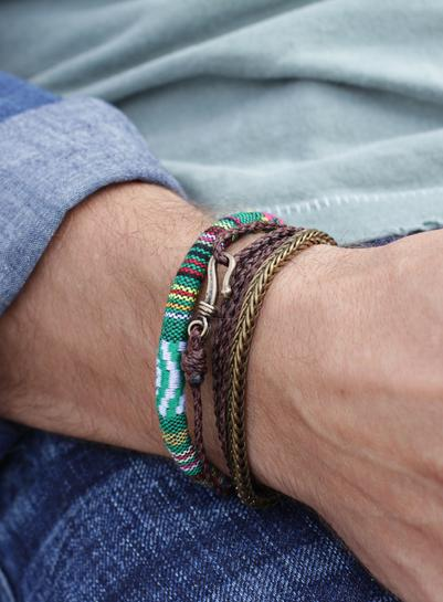 "We Are All Smith California ""Point Dume"" Cord Bracelet-Jewelry-Johnny Beach"