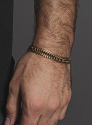 We Are All Smith Brass Spine Bracelet