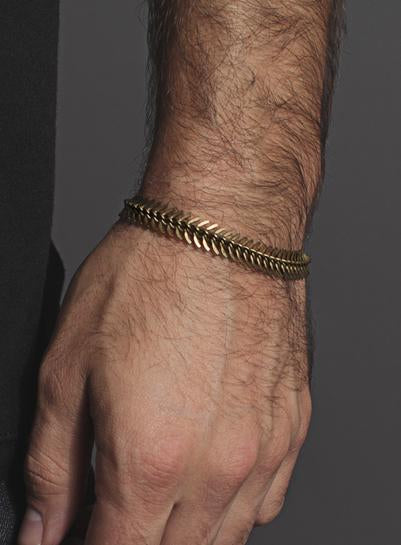 We Are All Smith Brass Spine Bracelet-Jewelry-Johnny Beach