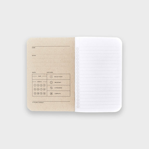 Word. Notebooks - Swedish Camo Johnny Beach