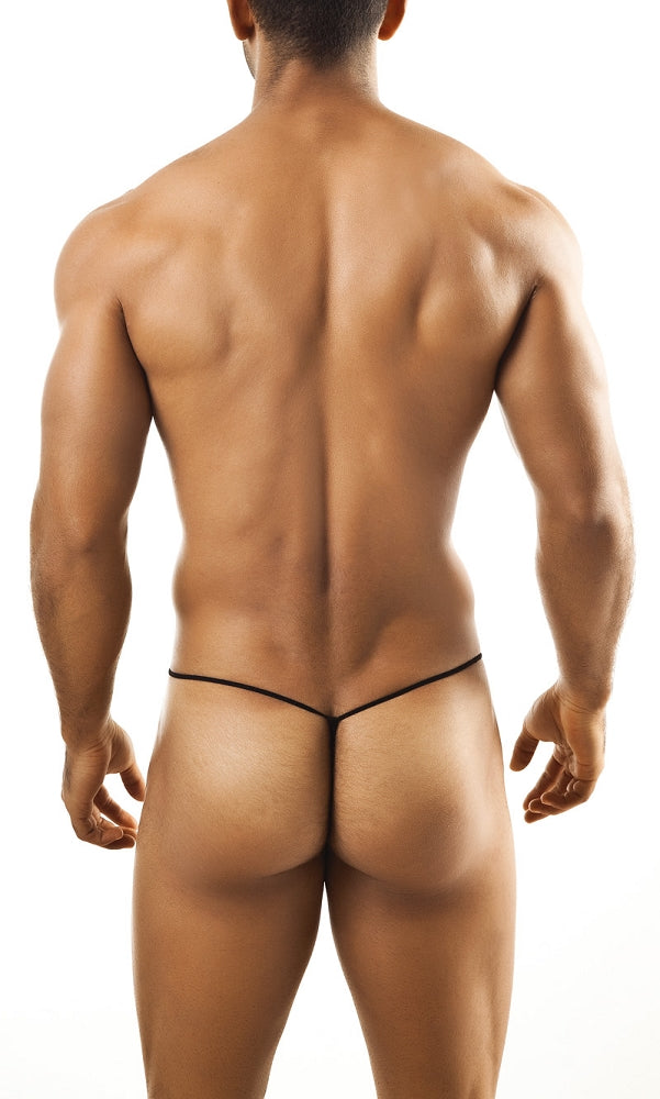 Joe Snyder G-String - White Mesh Johnny Beach