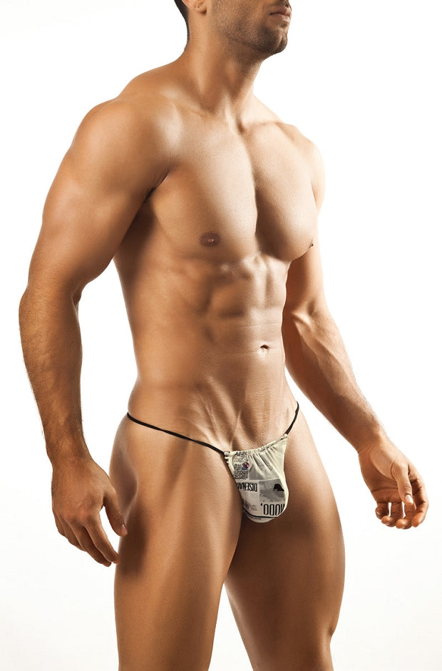 Joe Snyder G-String - Journal-Underwear-Johnny Beach