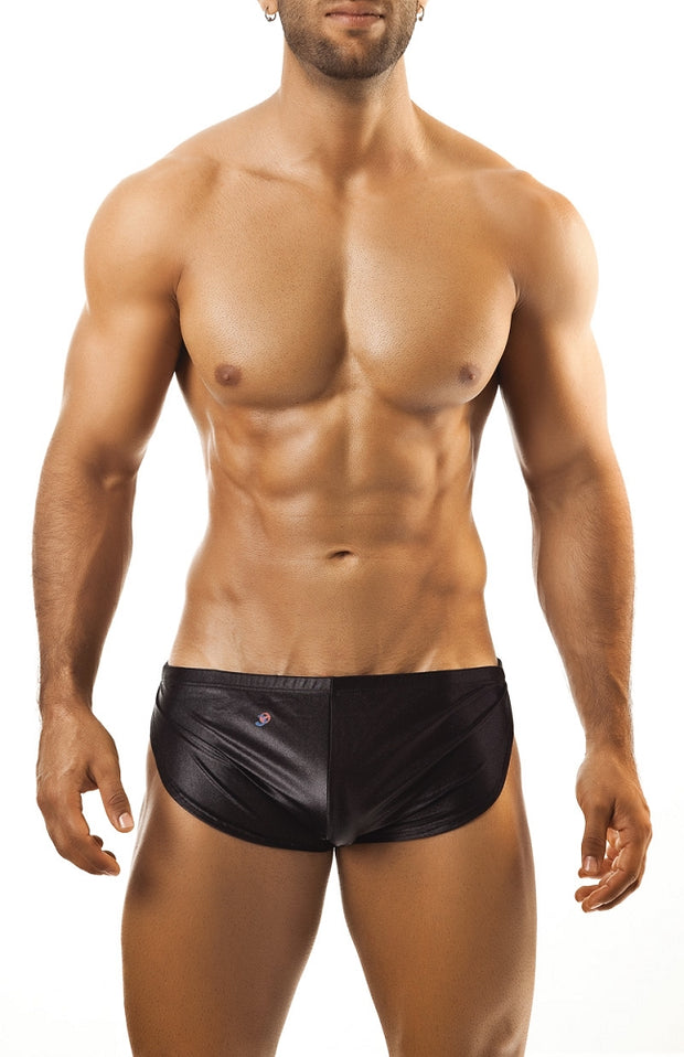 Joe Snyder Running Short - Black Pearl-shorts-Johnny Beach