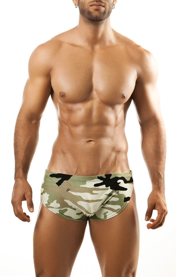 Joe Snyder Running Short - Camo Johnny Beach