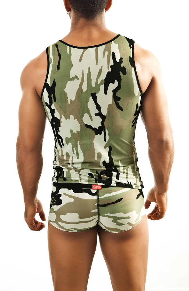 Joe Snyder - Tank Top - Camo, tank tops, Joe Snyder - Johnny Beach