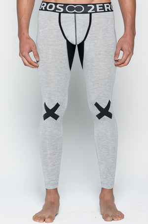 2EROS - X Series Leggings - Grey Marle, pants, 2eros - Johnny Beach