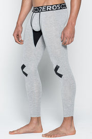 2EROS - X Series Leggings - Grey Marle Johnny Beach