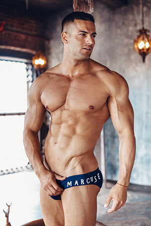 Marcuse - Envy Swim Brief - Navy, Swimwear, Marcuse - Johnny Beach