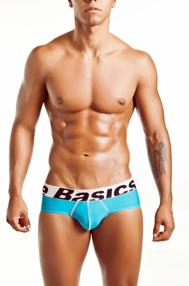 MaleBasics - Microfiber Brief - Turquoise-Underwear-Johnny Beach