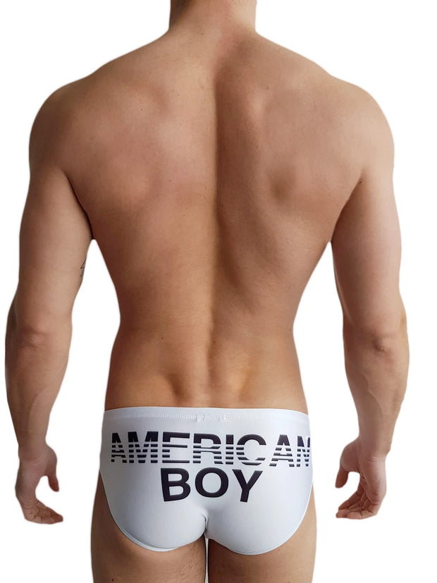Richie American Boy Brief-Swimwear-Johnny Beach