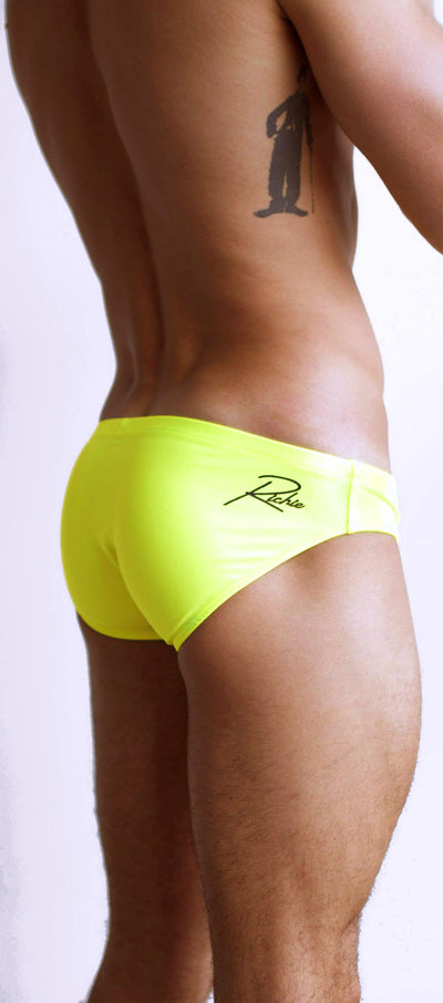 Richie Ananas Brief Swimwear-Swimwear-Johnny Beach
