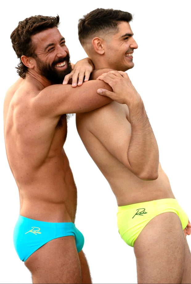 Richie Alaskan Neon Brief Swimwear-Swimwear-Johnny Beach