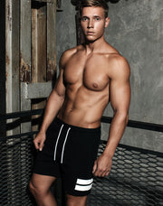 Supawear - Crimson Shorts - Black-shorts-Johnny Beach