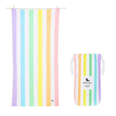 Dock & Bay - XL Summer Collection Towel - Unicorn Waves-towels-Johnny Beach