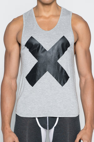 2EROS - X Series Tank - Grey Marle, shirt, 2eros - Johnny Beach