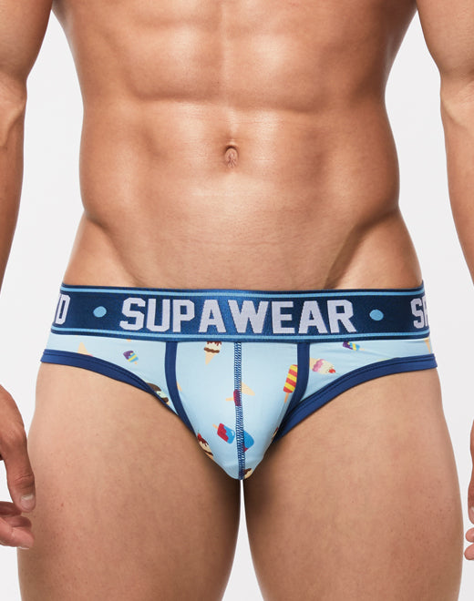 Supawear - Sprint Brief Underwear - Ice Cream Johnny Beach