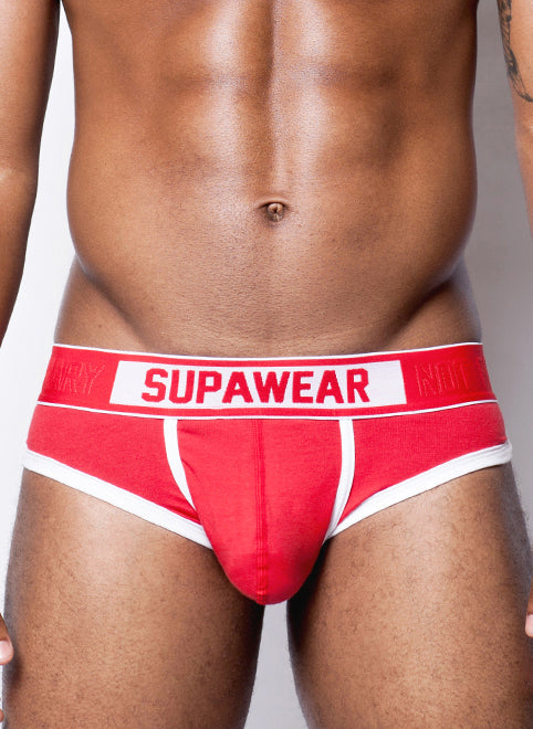 Supawear - Crimson Brief - Red