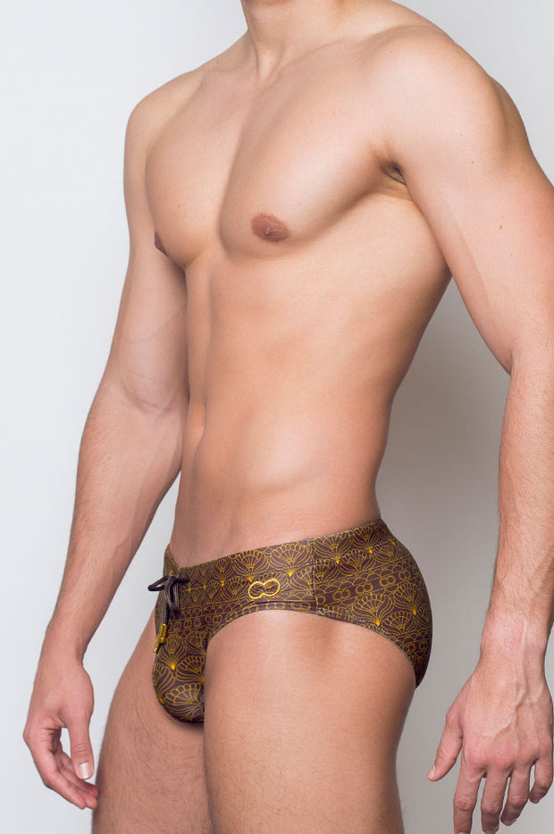 2eros V10 Print Swimwear Briefs Persia-Swimwear-Johnny Beach