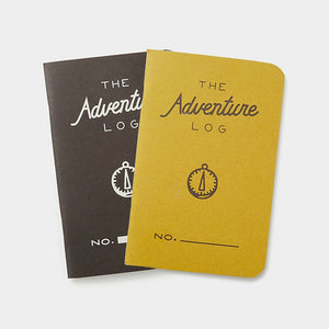 Word. Notebooks - The Adventure Log - Yellow, notebook, Word. - Johnny Beach