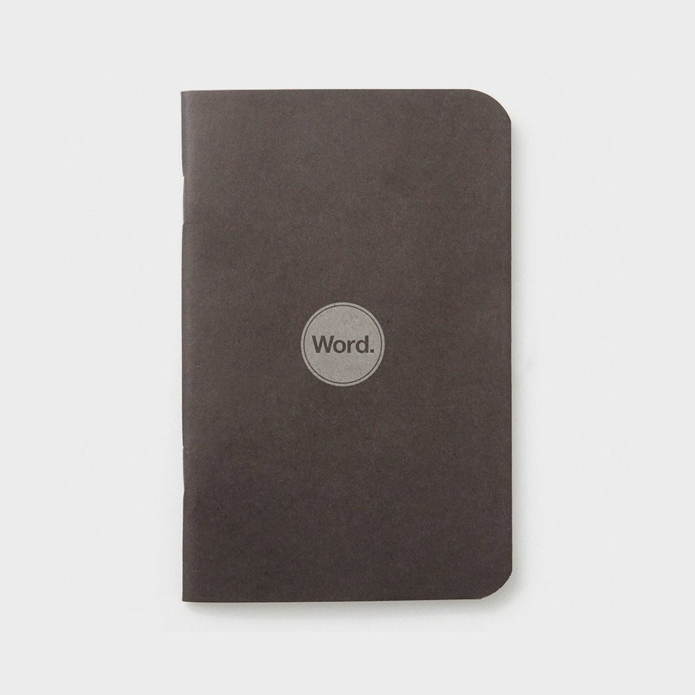 Word. Notebooks - Black