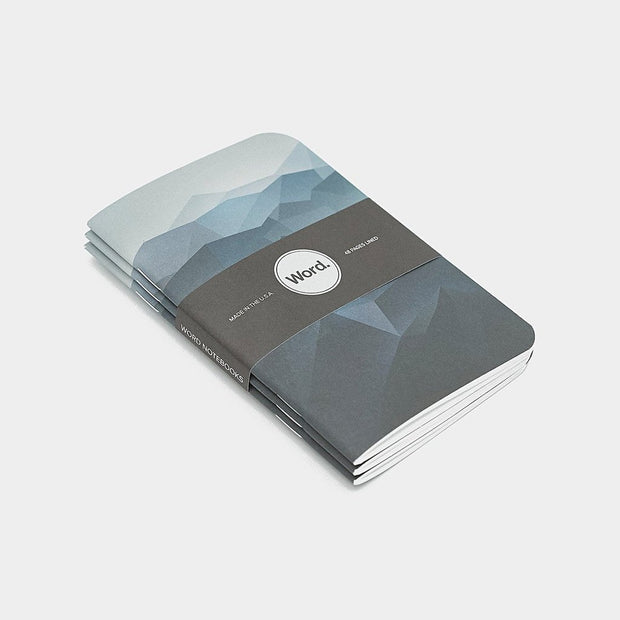 Word. Notebooks - Blue Mountain Johnny Beach