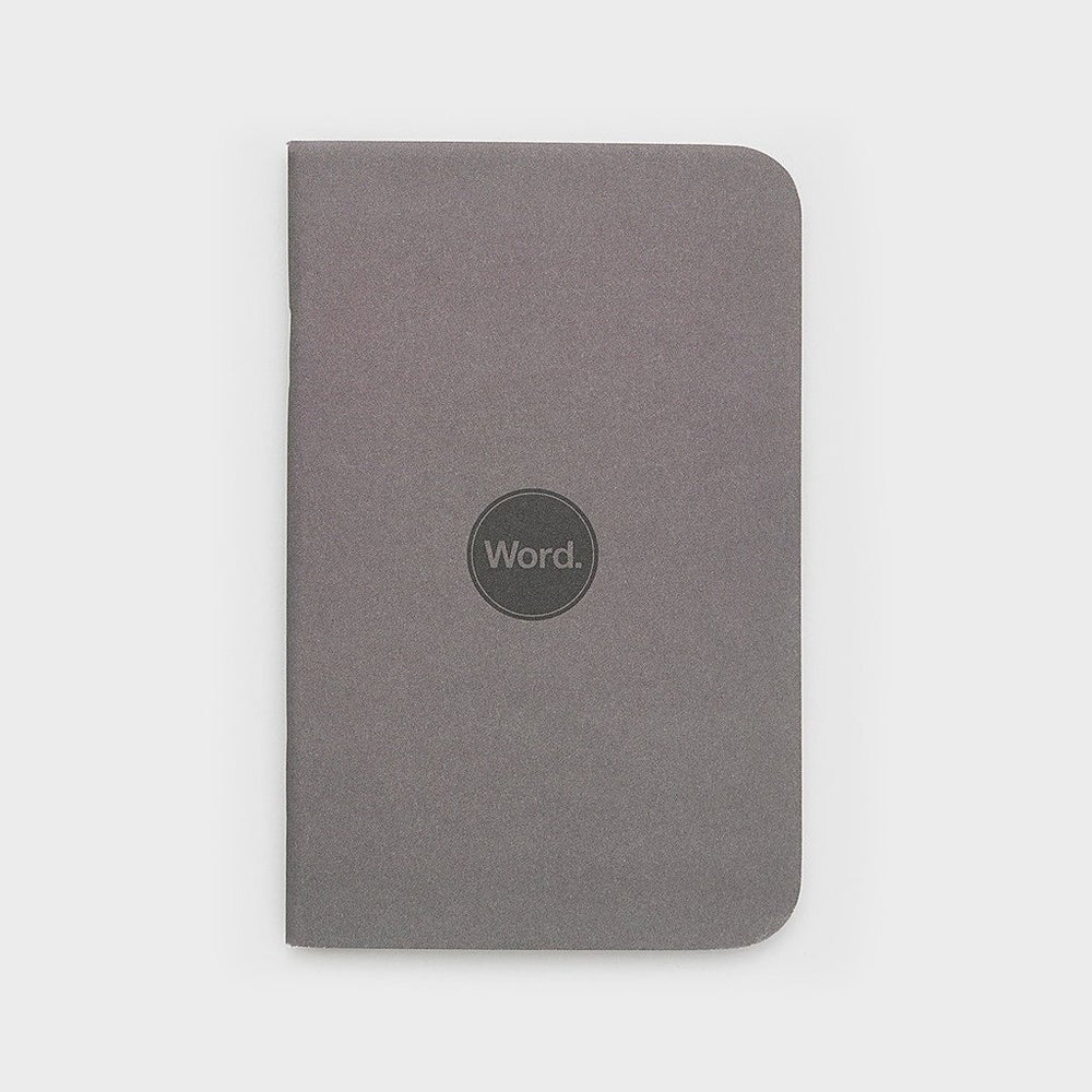 Word. Notebooks - Charcoal