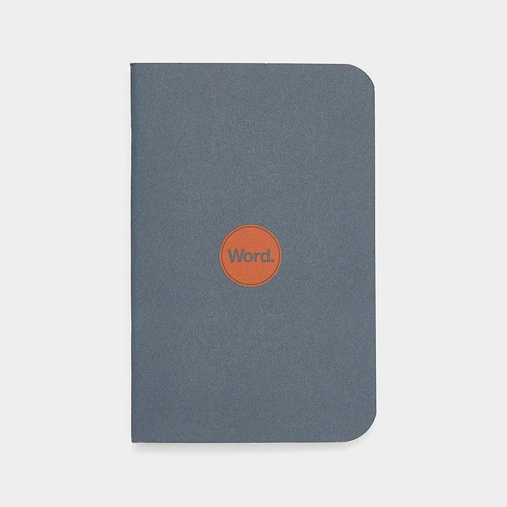 Word. Notebooks - Denim
