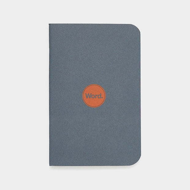Word. Notebooks - Denim Johnny Beach