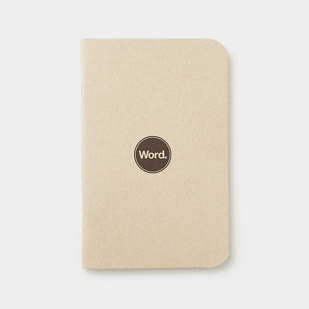 Word. Notebooks - Natural Johnny Beach