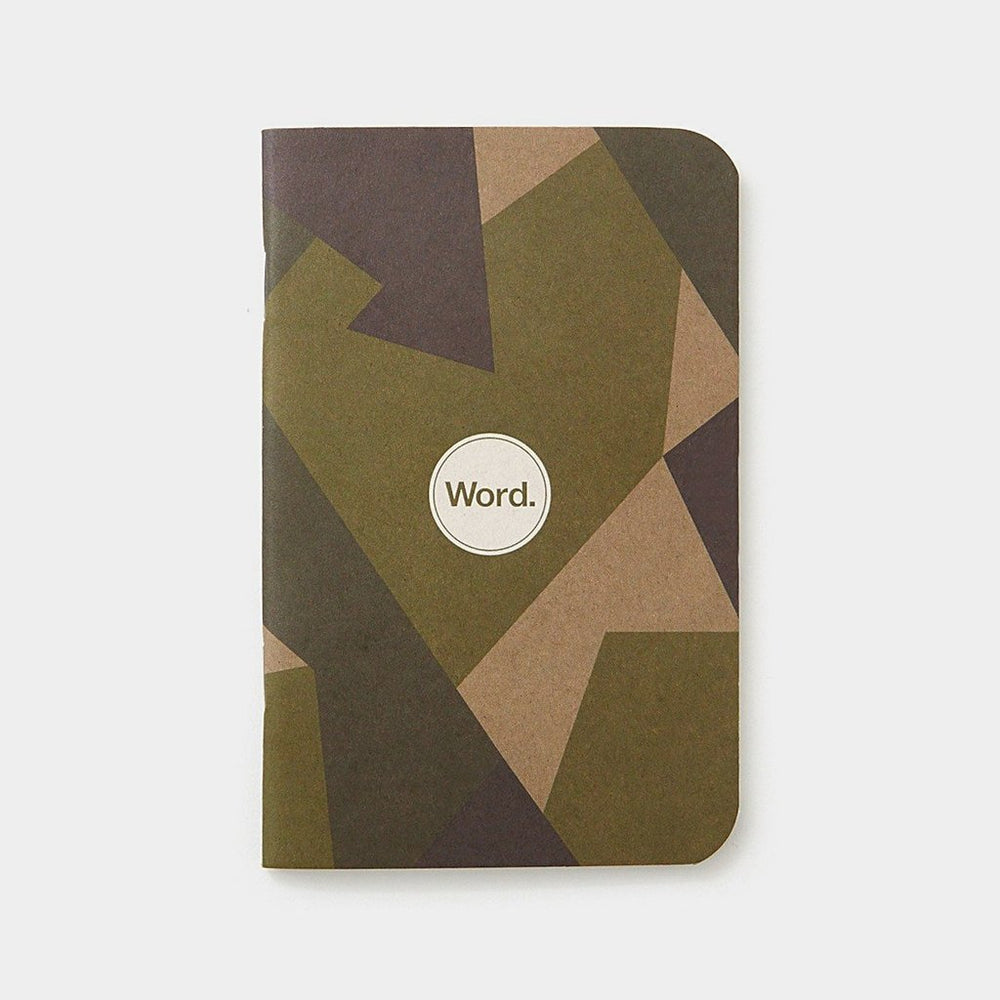 Word. Notebooks - Swedish Camo