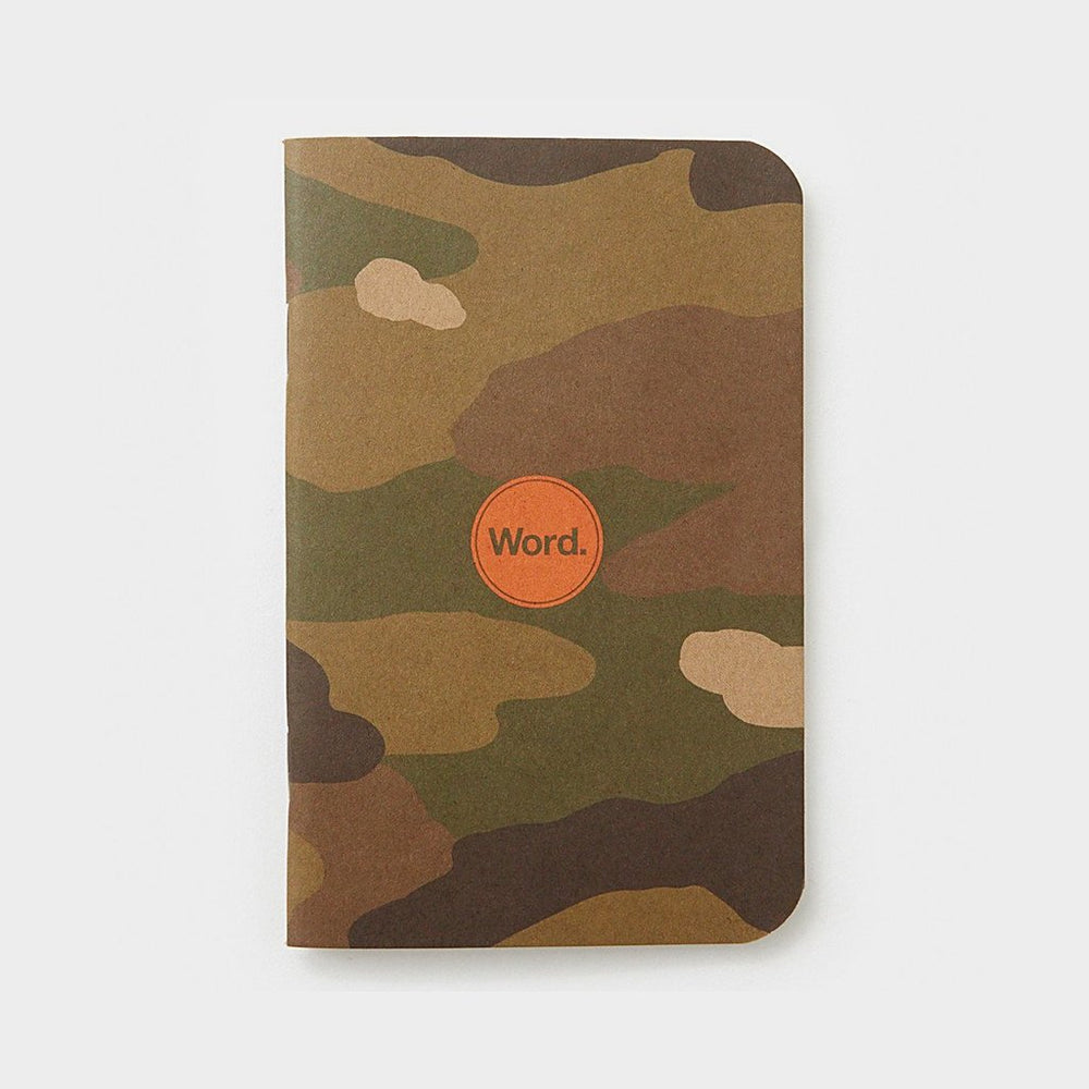 Word. Notebooks - Traditional Camo
