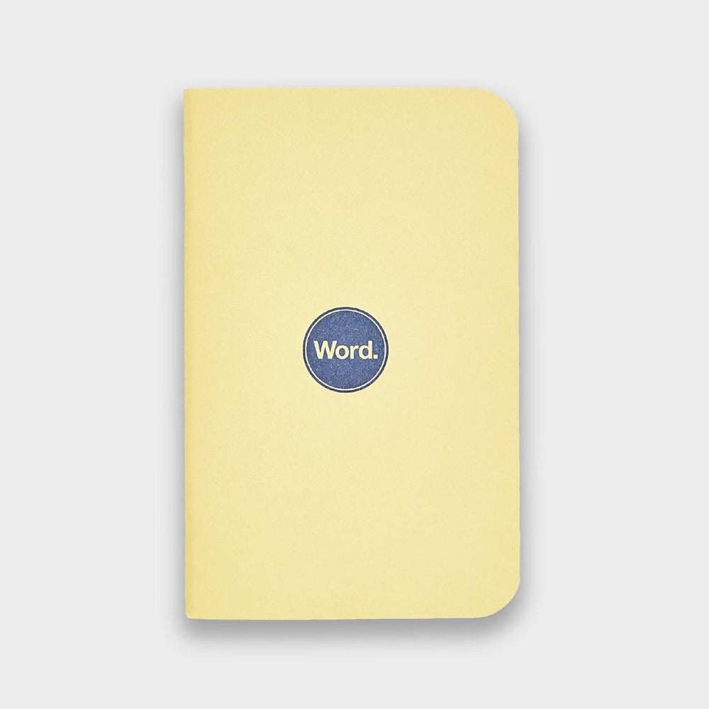 Word. Notebooks - Yellow